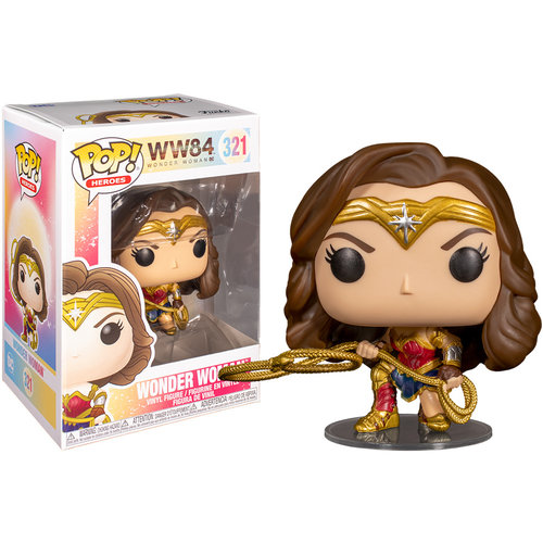 Funko Wonder Woman (with Lasso) #321 (Wonder Woman) POP! Heroes