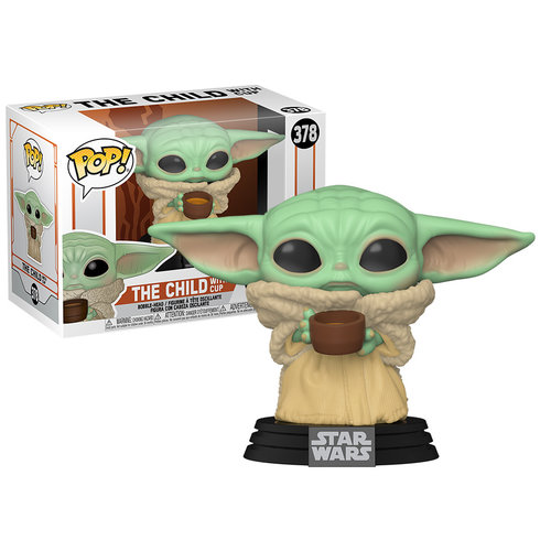 Funko The Child with Cup (Baby Yoda) #378 (The Mandalorian) POP! Star Wars