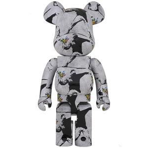 Medicom Toys 1000% Bearbrick - Flower Bomber (Banksy)