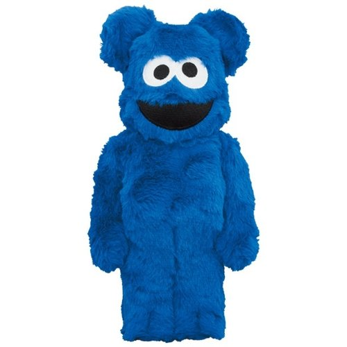 Medicom Toys [Pre-Order] 400% Bearbrick - Cookiemonster (Suit ed.)