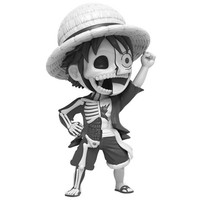 Monkey D. Luffy - Chase (One Piece Hidden Dissectables) by Jason Freeny