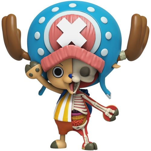 Mighty Jaxx Tony Tony Chopper (One Piece Hidden Dissectables) by Jason Freeny