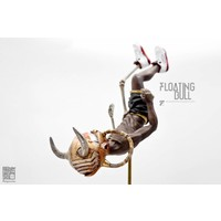 """12"""" Floating Bull by Fools Paradise"""
