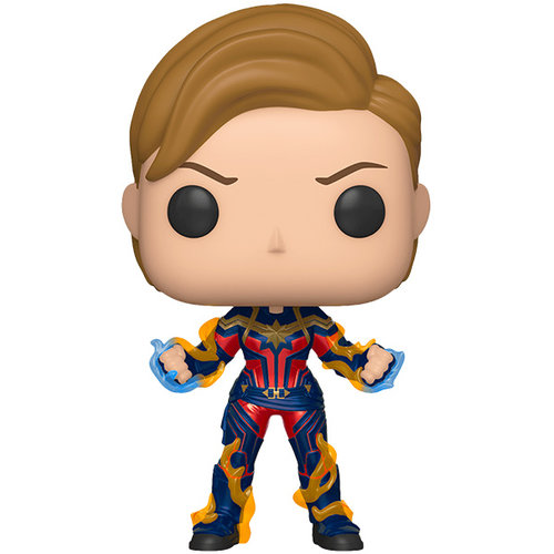 Funko Captain Marvel with New Hair #576 (Avengers Endgame) POP! Marvel