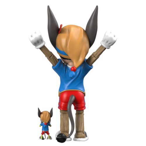 Mighty Jaxx [PRE-ORDER] A Wood Awakening Donkey (BFF Edition) by Juce Gace
