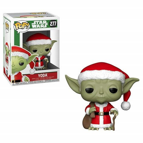 Funko Holiday Santa Yoda #277 (Star Wars) POP! Star Wars