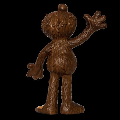 Mighty Jaxx Elmo (Woodworked) by Jason Freeny x Premiumworked