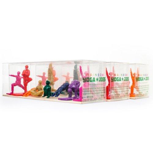 Yoga Joes Rainbow Series 1 by Humango Inc.