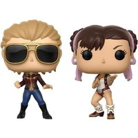 Captain Marvel vs Chun-Li #2 Pack (Marvel Gamerverse) POP! Games
