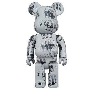 Medicom Toys [PO] 1000% Bearbrick - Andy Warhol (Elvis Presley)