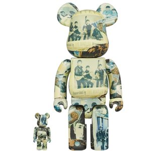 Medicom Toys [PO] 400% & 100% Bearbrick set - The Beatles (Anthology)