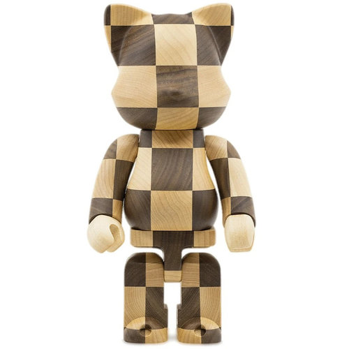 Medicom Toys 400% Karimoku Nyarbrick - Chess Version