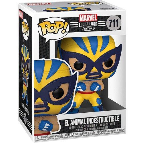 Funko El Animal Indestructible #711 (Lucha Libre) POP! Marvel