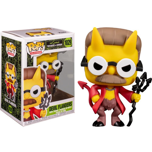 Funko Devil Flanders (Simpsons - THOH) #1029 - POP! TV