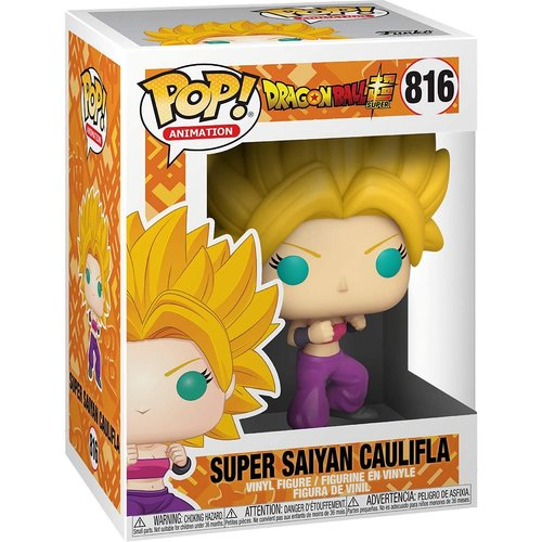 Funko Super Saiyan Caulifla #816 (Dragon Ball Super) POP! Animation