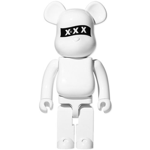 Medicom Toys 1000% Bearbrick - God Selection XXX (White)