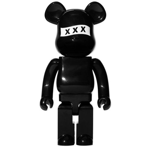 Medicom Toys 1000% Bearbrick - God Selection XXX (Black)