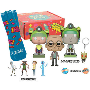 Funko Rick And Morty: Blips and Chitz (Sealed Mystery box) POP! Animation