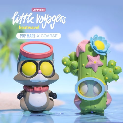 Pop Mart Little Voyagers (Heatwave) Mini Series by Coarse