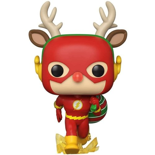 Funko The Flash Holiday Dash #356 (DC Super Heroes) POP! Heroes
