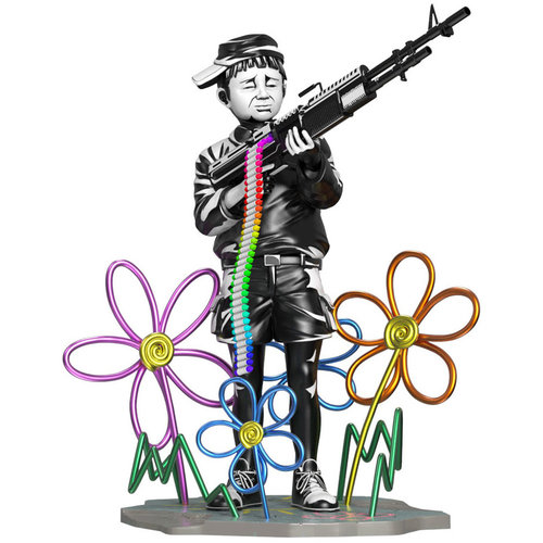 Mighty Jaxx Crayon Shooter (OG) by Brandalised x Banksy