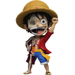 Mighty Jaxx Monkey D. Luffy (One Piece) XXRAY Plus by Jason Freeny
