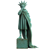 Liberty Girl (Freedom) by Brandalised x Banksy