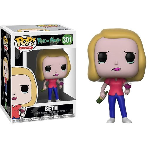 Funko Beth #301 (Rick And Morty) POP! Animation