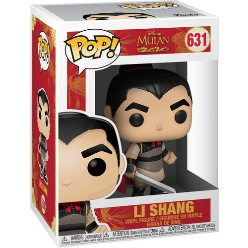 Funko Li Shang #631 (Mulan) POP! Disney