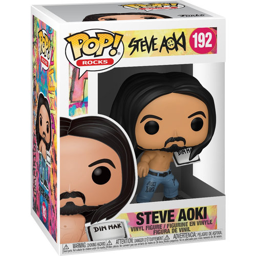 Funko Steve Aoki with Cake #192 POP! Rocks
