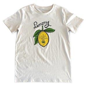 Creamlab Lemony (Vintage White) T-shirt by Kloes