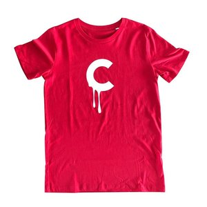 Creamlab C-drip (Red) T-shirt by Kloes