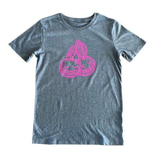 Creamlab Cherrysh (Mid Heather Blue) T-shirt by Kloes