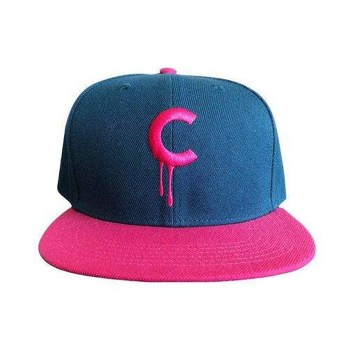 Creamlab C-drip Snapback (Pink & Blue) by Kloes