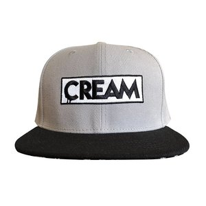 Creamlab CREAM Snapback (Grey & Black) by kloes