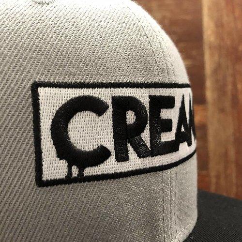 Creamlab CREAM Snapback (Grey & Black) by kloes