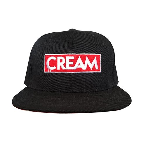 Creamlab CREAM Snapback (Red & Black) by Kloes