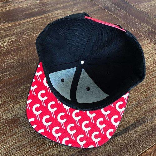 Creamlab CREAM Snapback (Red & Black) by Kloes