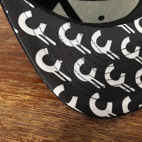 Creamlab 3D CREAM Snapback (Black Brim) by Kloes