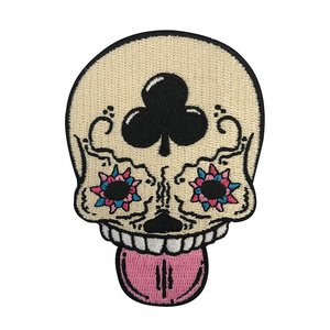 Creamlab Calavera (Vanilla) Embroidered patch by Kloes