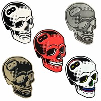 8 Ball Skull Pin (Soft Enamel) by Tizieu