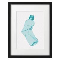 Bottled in Blue Print (A3) by Tjelsie