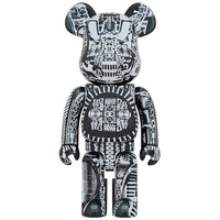 1000% Bearbrick - H.R. Giger (Black Chrome)