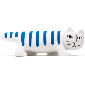 Medicom Toys VCD Mikey the Cat (Blue) by Lisa Larson