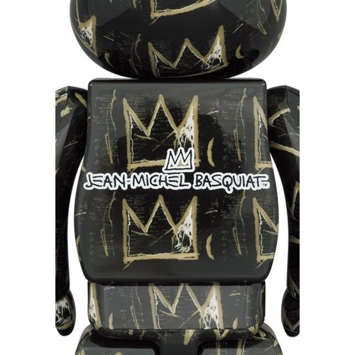 Medicom Toys [Pre-Order] 1000% Bearbrick - Jean-Michel Basquiat v8 (Crowns)