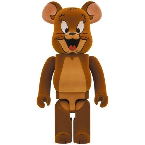 Medicom Toys [PRE-ORDER] 1000% Bearbrick - Jerry Flocky edition (Tom &  Jerry)