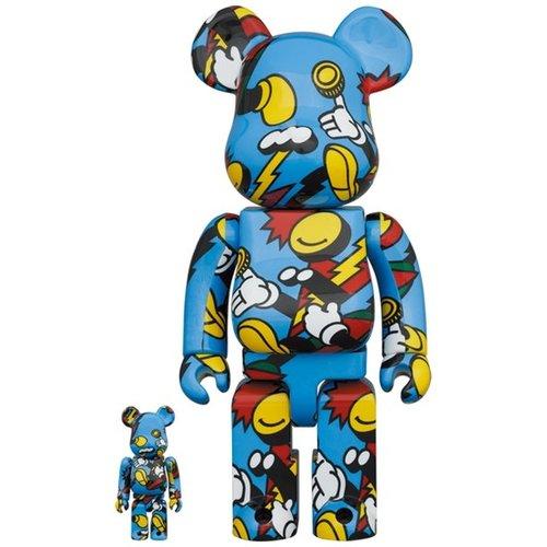 Medicom Toys [PRE-ORDER] 400% & 100% Bearbrick set - Grafflex Arts