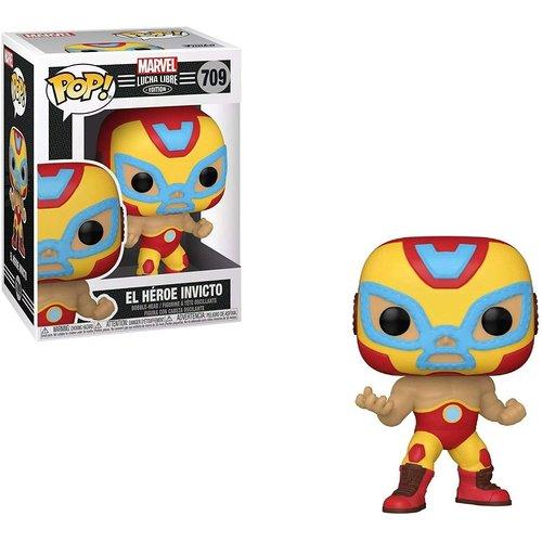 Funko El Héroe Invicto #709 (Lucha Libre) POP! Marvel