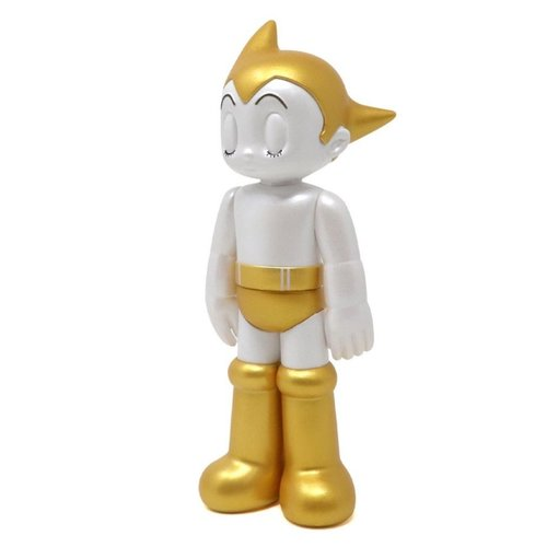 Tokyo Toys Astro Boy PVC (Closed Eyes - Gold) by Tezuka Productions