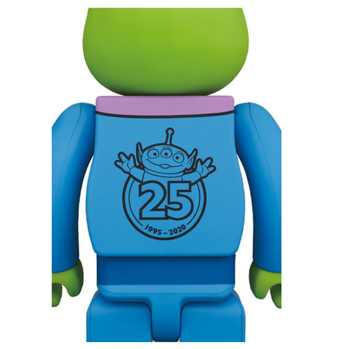 Medicom Toys [DAMAGED BOX] 1000% Bearbrick - Alien (Toy Story) by Disney